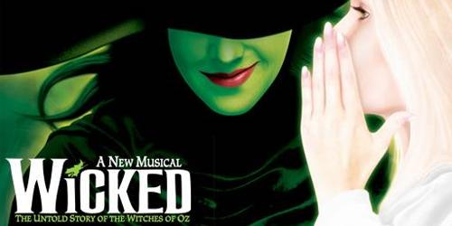 Wicked, Wicked Musical stage poster