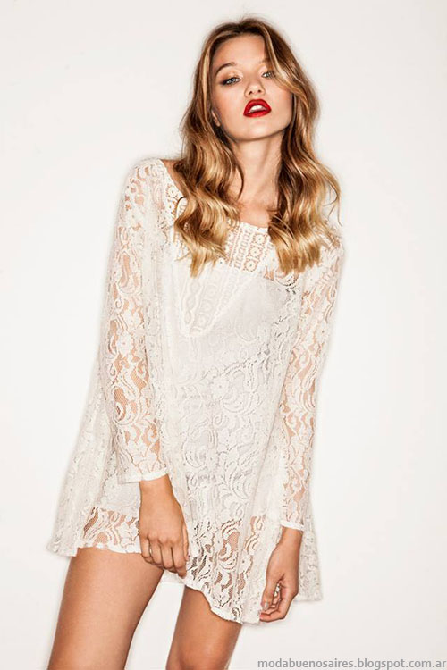 Moda invierno 2015 Vestidos cortos de moda Bernarda Bernardita.