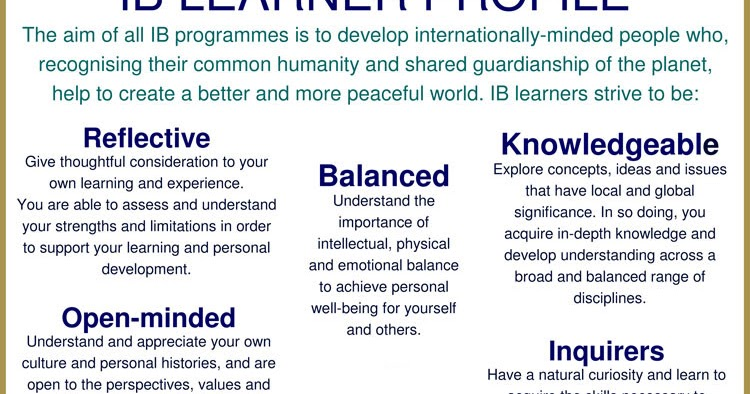 promoting intercultural understanding international baccalaureate program essay The international baccalaureate peaceful world through promoting intercultural understanding and carried out in an international school that.
