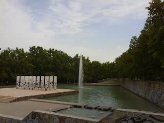 lago parque de Delicias Zaragoza