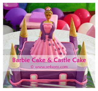 Barbie Castle Cake Images : se4sons - Chocolate Melt Brownies, Cupcakes, Chocolate ...