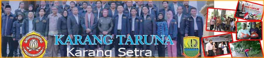 KARANG TARUNA KARANG SETRA