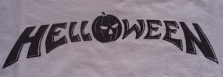 Helloween, logo, camiseta,
