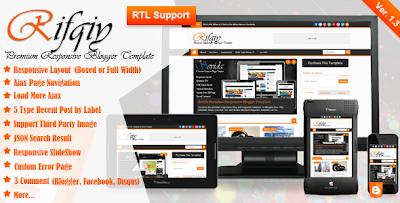 Download Template Rifqiy Premium Responsive