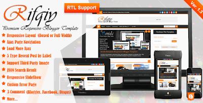 Template Rifqiy Premium Responsive