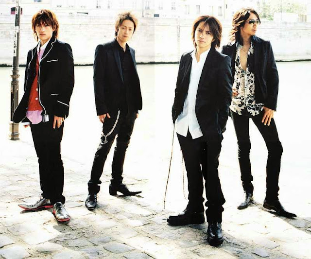 Foto grup band L'Arc-en-Ciel