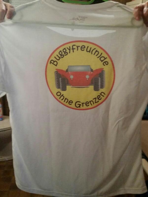 Buggyfreunde Shirt Rücken