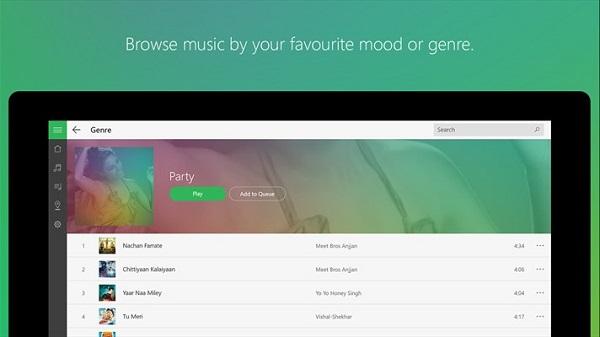 Saavn releases Windows 10 universal app