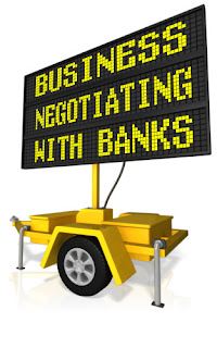 business negotiating with banks