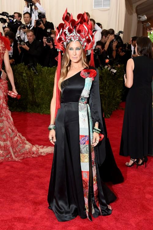 Sarah Jessica Parker in the H & M SJP