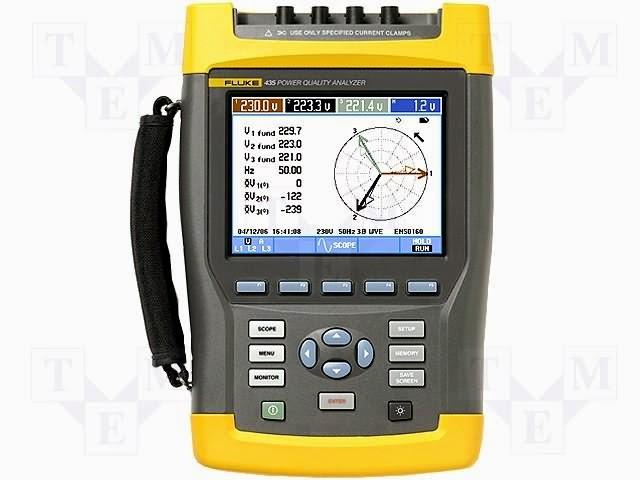 Multimeter untuk pengukuran instrumentasi