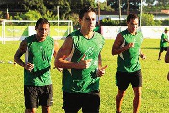 Oriente Petrolero - Wilder Zabala, Marcelo Aguirre, Gualberto Mojica - Club Oriente Petrolero