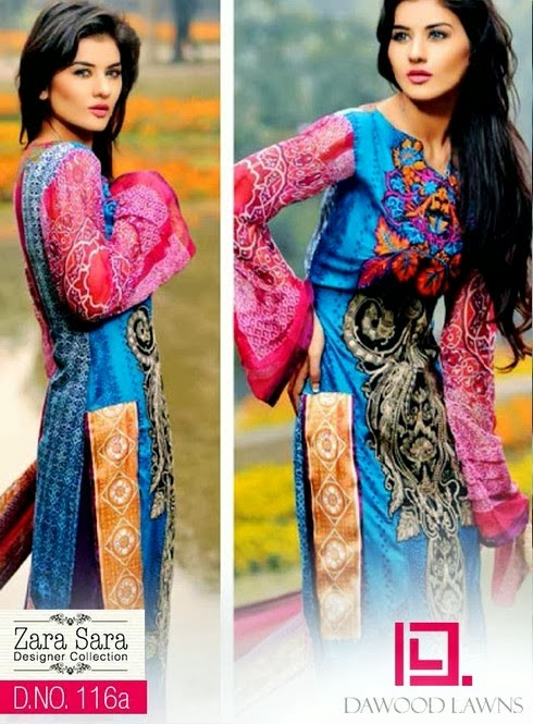 Designer Lawn Collection by Dawood