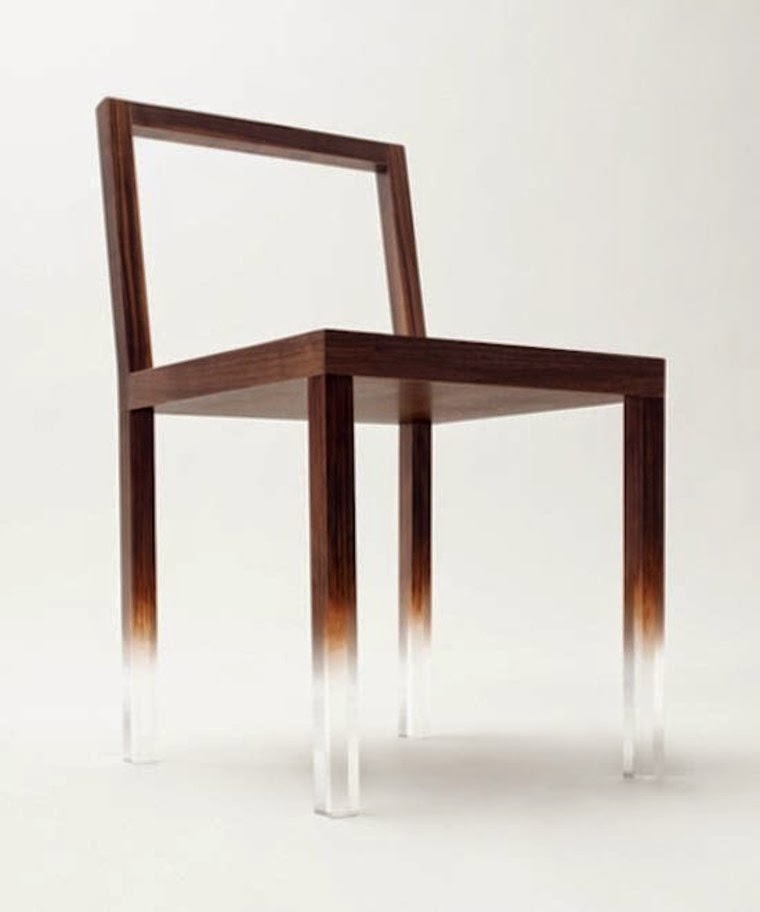 Fade Out Chair magic design, Cool furniture tricks, Optical illusions furniture for inspiration