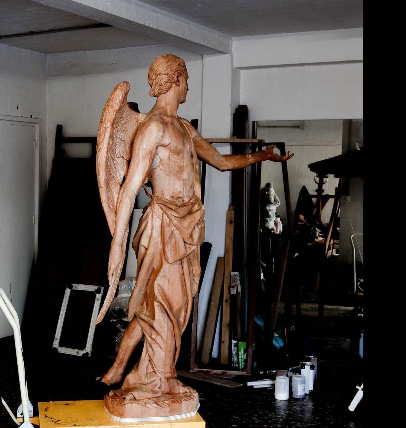 Angel Semana Santa Tobarra escultura 18