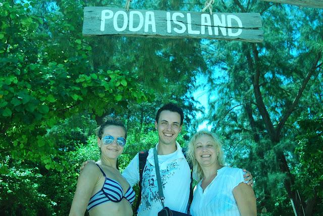 Остров Пода (Poda island, Koh Poda)