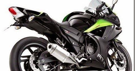 Motor Drag Ninja Modifikasi TVS RTR 160 Fairing Dan