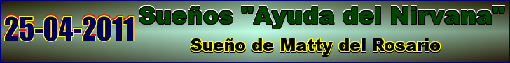 SUEÑO DE MATTY