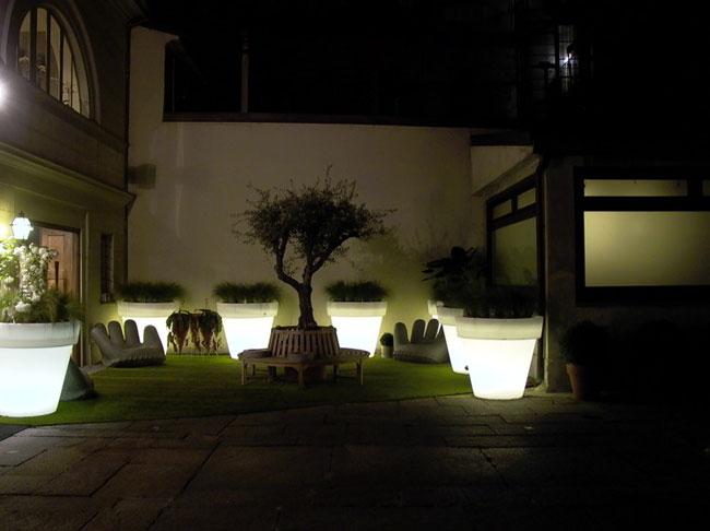 Buenas Ideas para la iluminacin Exterior Jardn y Terrazas