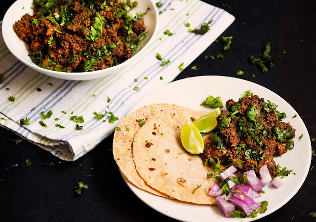 mutton keema kaleji recipe minced meat with liver curry recipe indian