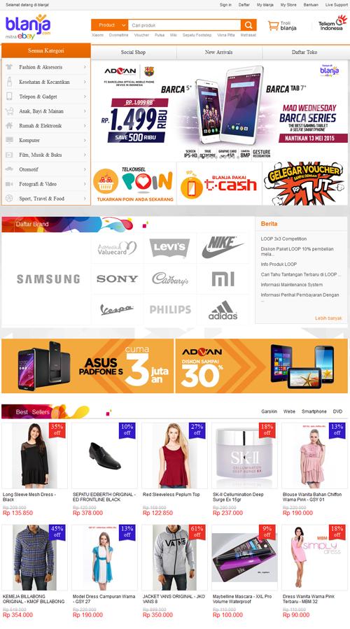 Blanja.com Toko Online Paling Aman dan Terpercaya