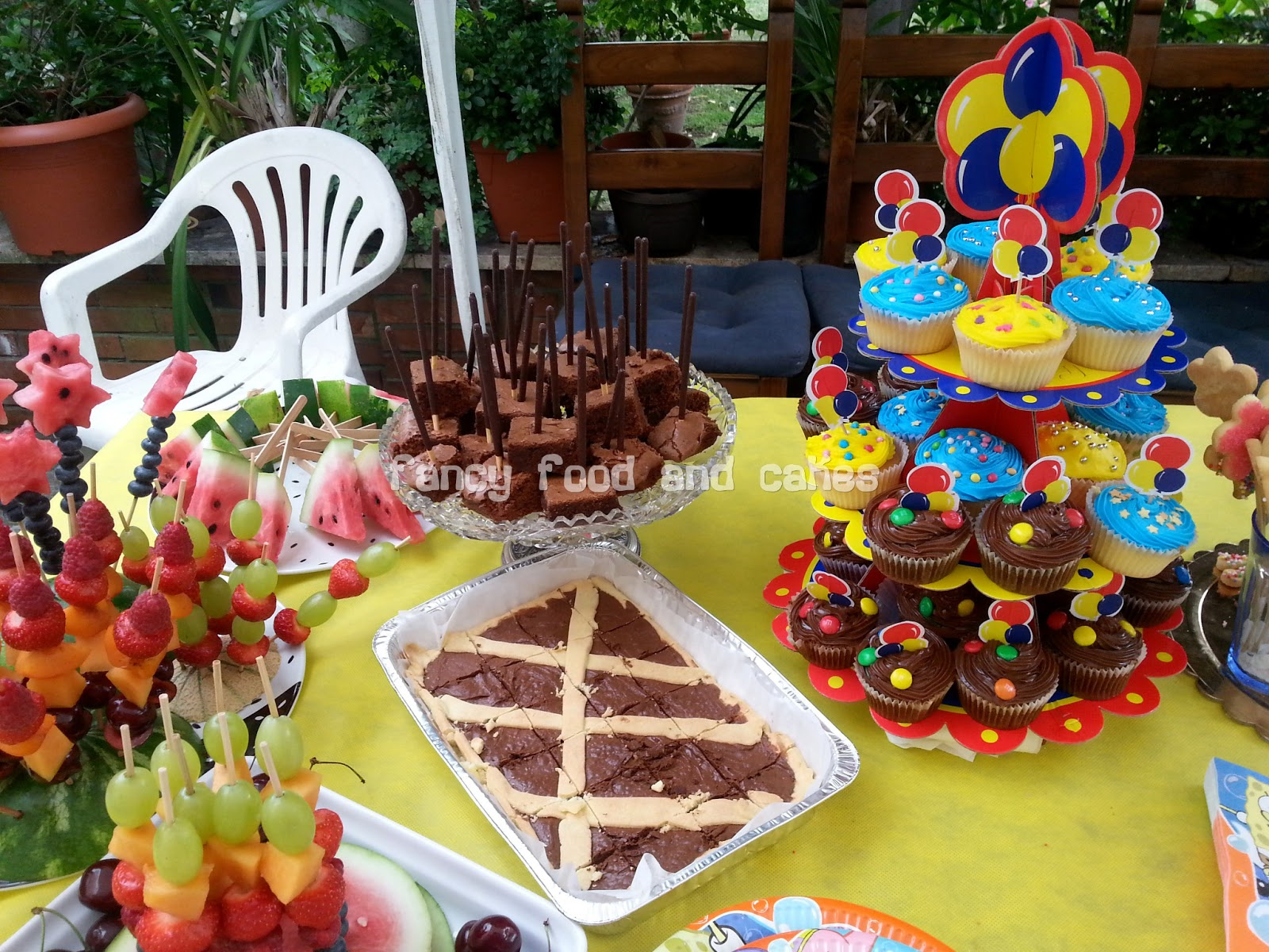 ... cakes: Buffet per un compleanno estivo - Buffet for a summer birthday