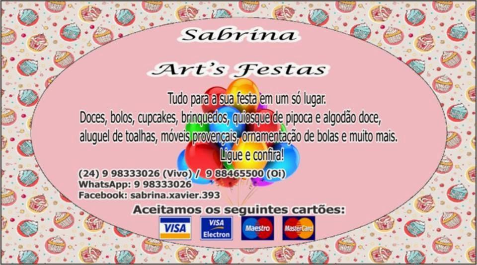 Art's Festas em Barra Mansa-RJ