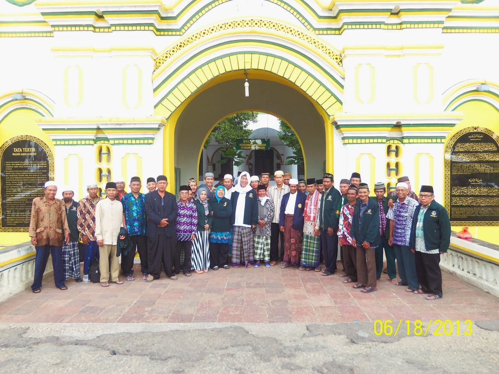 tk Masjid Agung Sumenep Dari Masjid Agung Sumenep
