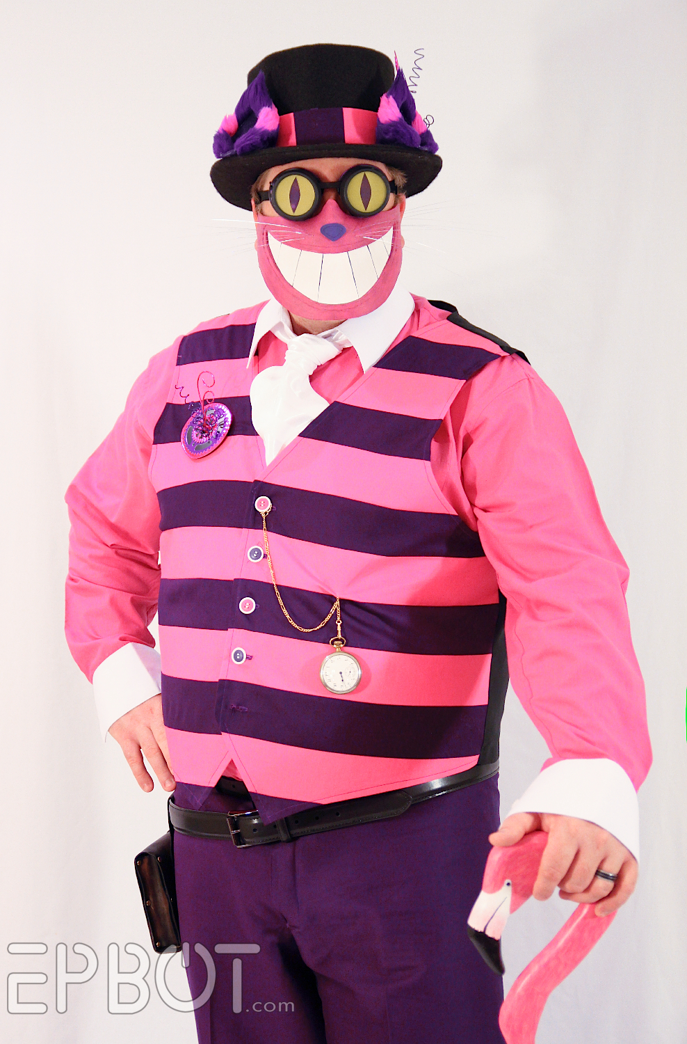 A Ste&unk Cheshire Cat Is Kinda Creepy : cat costume for guys  - Germanpascual.Com
