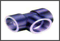 Image of Straight Tee Pipe Fittings manufactured and supplied by S. Nomi and Co, Kolkata.