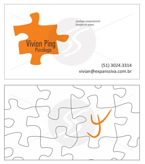 M225 cartoes de visita psicologos porto alegre - Cartões de Visita para Psicólogos