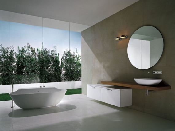 1st Home Design Interior: minimalist bathroom design