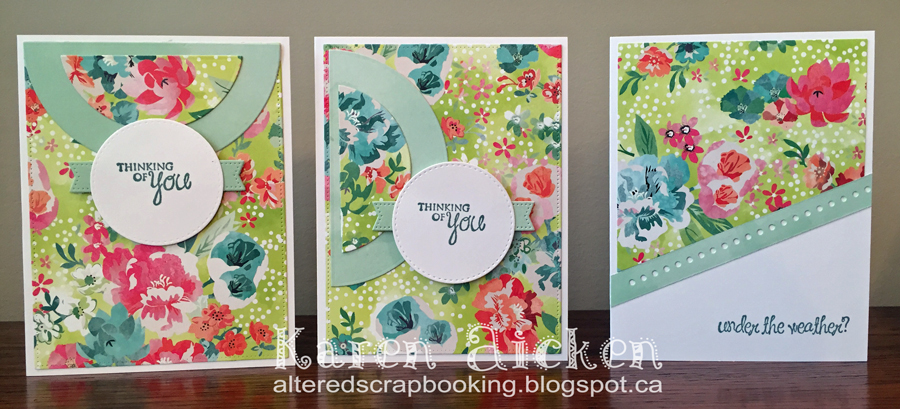 Altered scrapbooking floral get well card trio sunday 11 october 2015 malvernweather Images