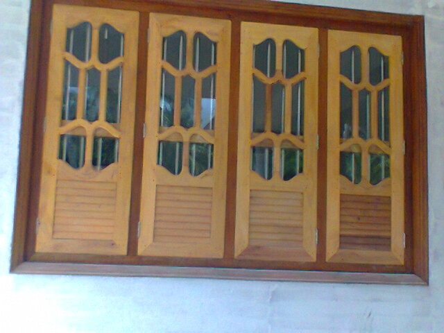 Carpenter work ideas and kerala style wooden decor may 2013 for New window design kerala