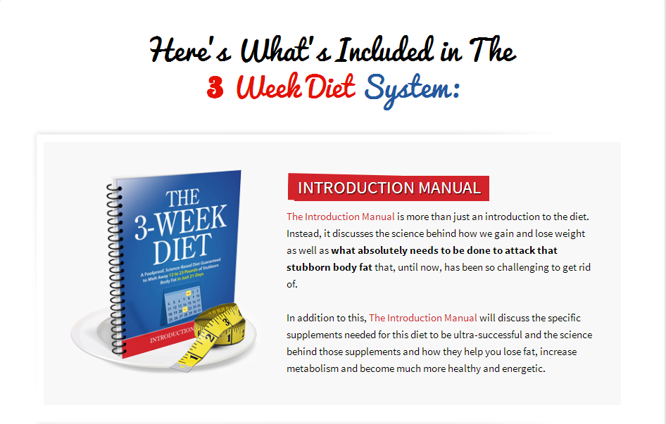 Click To Download The 3 Week Diet System Now!