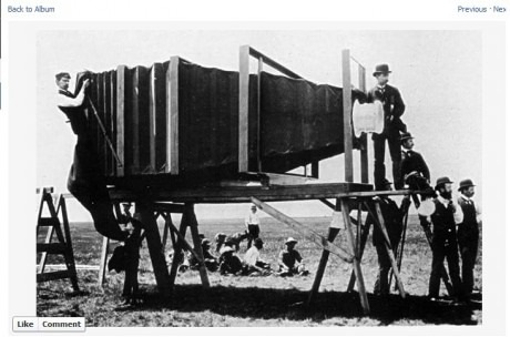 Picture of the very First Camera Invented - GAGBOX