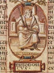 Teodorico el grande y Boacio