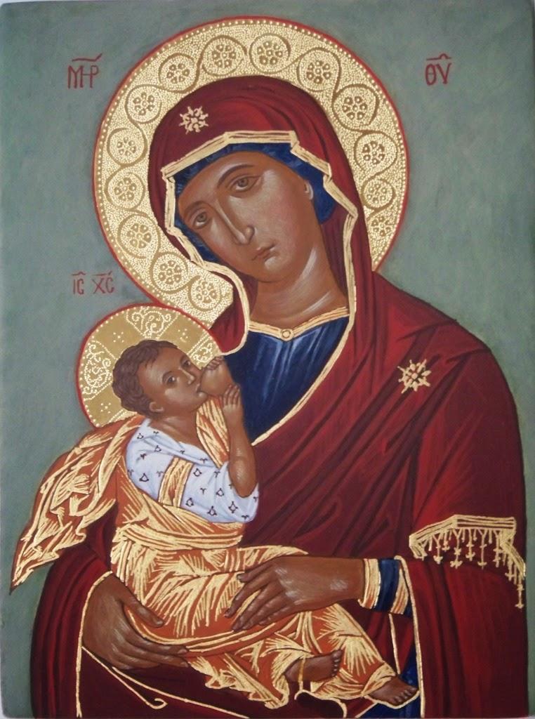 Matka Boska Karmiąca Ikona