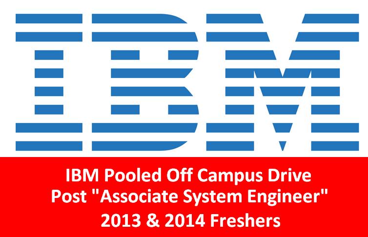 IBM Pooled Off Campus Drive