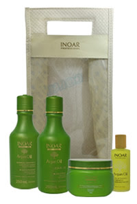 Inoar Argan Oil Home Care Kit (4 Produtos)