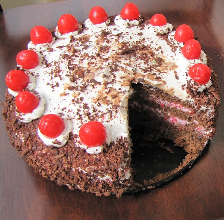 The Iconic Black Forest Gateau