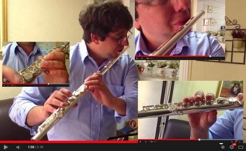 Videoaula de Flauta