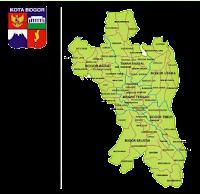 Peta Kota Bogor