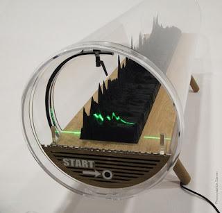 Print Suara bentuk 3D (Patung)