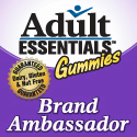 Adult Essentials Gummies Brand Ambassador Button