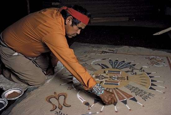 navajo sand painting coloring pages - photo#35