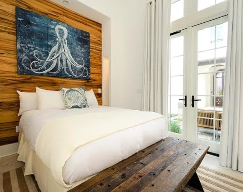 Tour 6 alys beach homes in florida completely coastal for Sea inspired bedroom designs