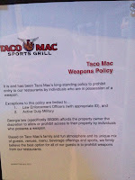 no guns sign picture taco mac