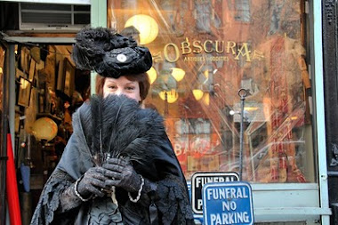 Victoriana Lady At Obscura Antiques For Oddities Show Taping