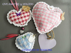 give away bij handmadebyfrancina